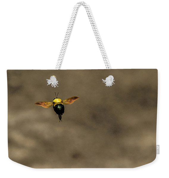 Bee Dance Weekender Tote Bag