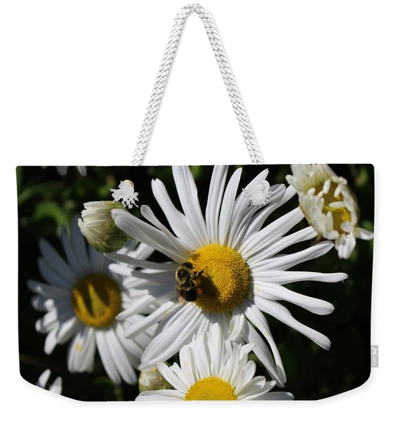 Bee On Flower 1 Weekender Tote Bag