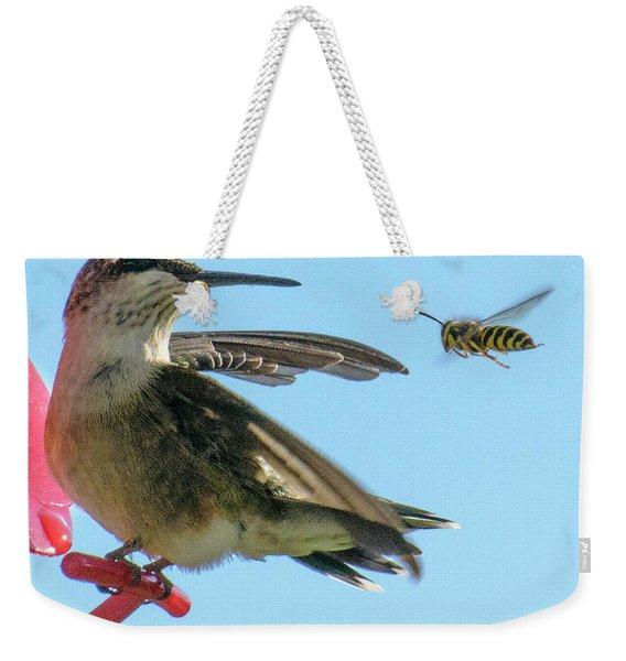 Bee_bird Weekender Tote Bag