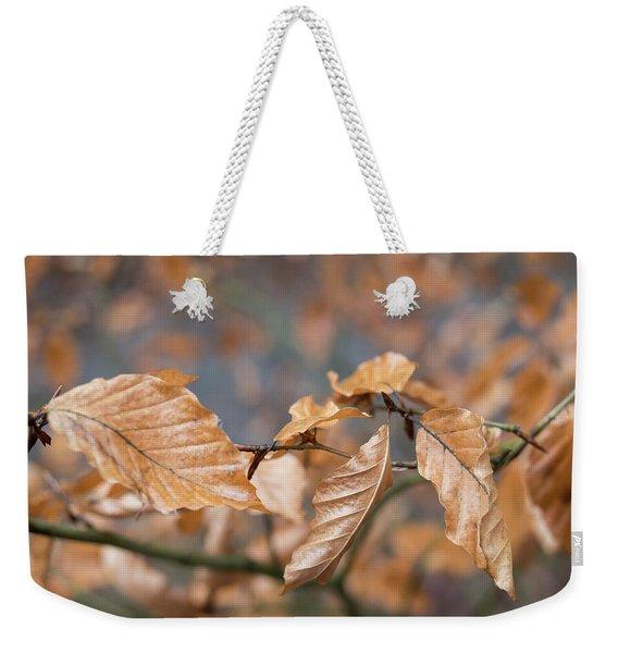 Beech Garland 3 Weekender Tote Bag