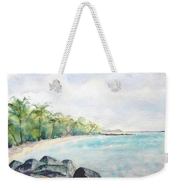 Beef Island Lagoon Weekender Tote Bag