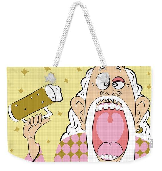 Beer King Weekender Tote Bag