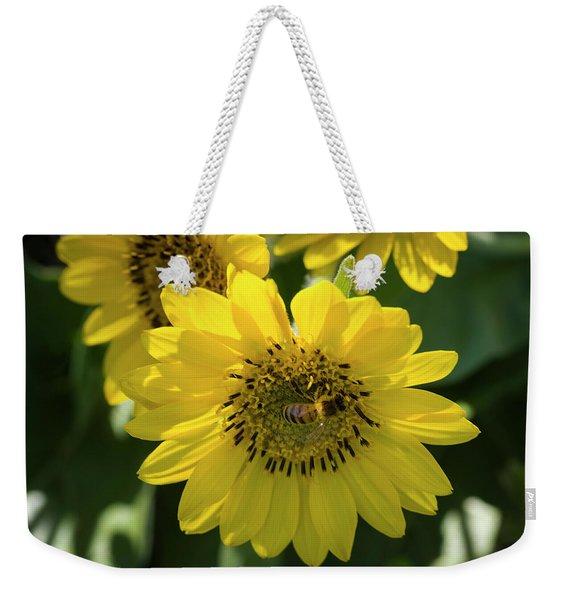 Bee's Work Is Never Done Weekender Tote Bag
