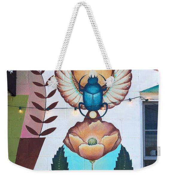 Beetleflower Weekender Tote Bag