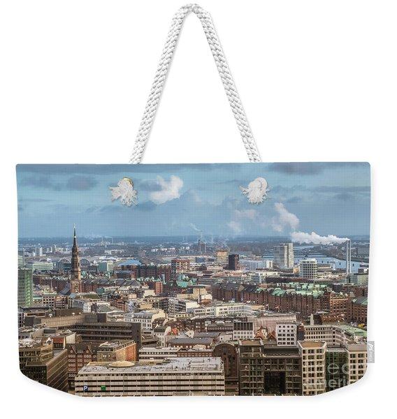 Befor A Snow Storm Hamburg Weekender Tote Bag