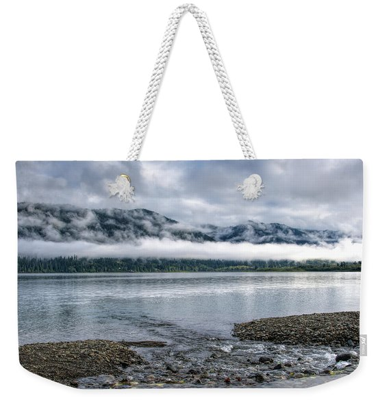 Before The Dawn On Quinault By Mike-hope Weekender Tote Bag