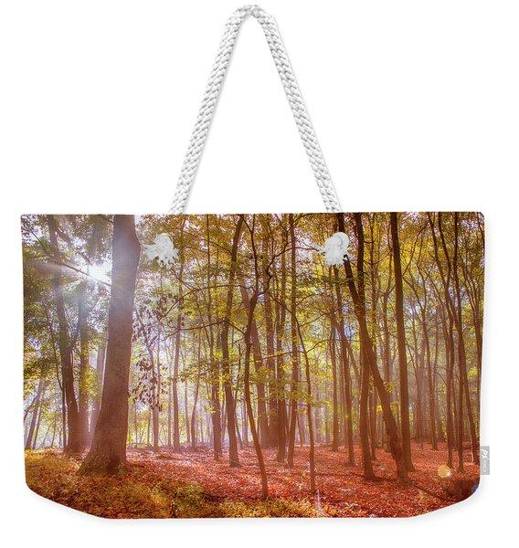 Beginning Of Fall Weekender Tote Bag