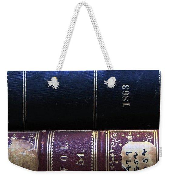 Behind On The Reading Weekender Tote Bag