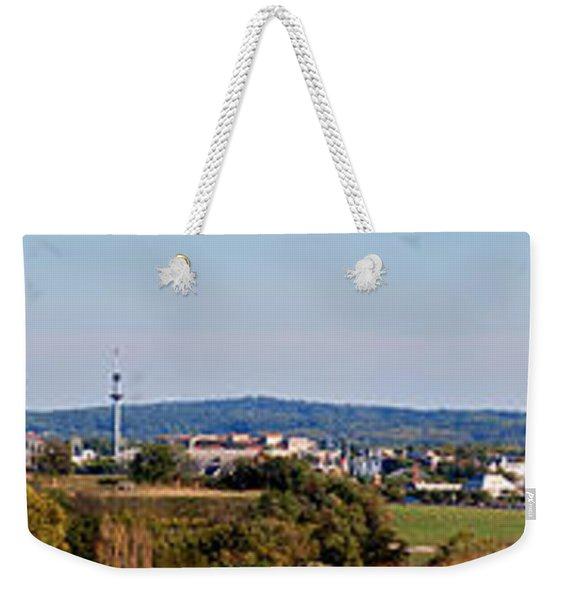 Behind Pats Hill Weekender Tote Bag