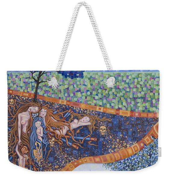 Behind The Canvas Weekender Tote Bag