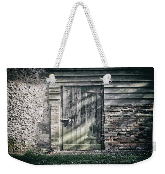 Behind The Door Weekender Tote Bag