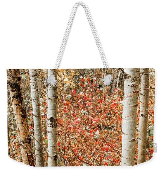 Behind The Trees Weekender Tote Bag