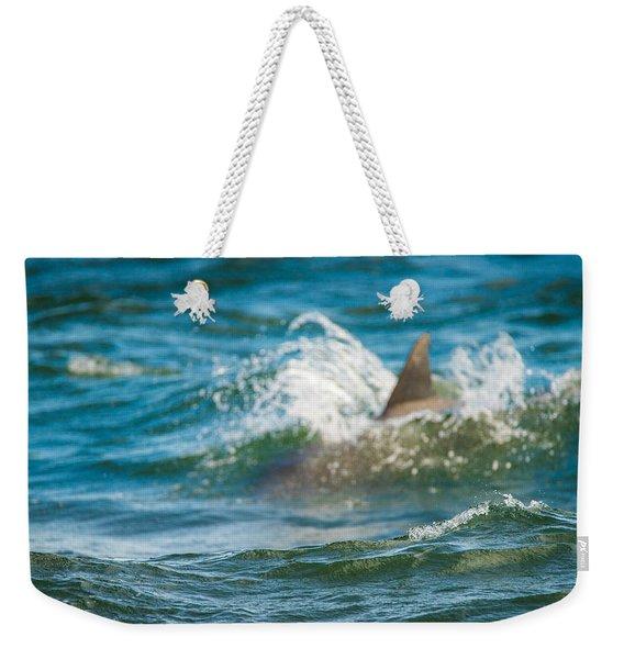 Behind The Wave Weekender Tote Bag
