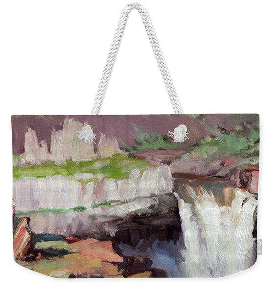 Beholding Palouse Falls Weekender Tote Bag