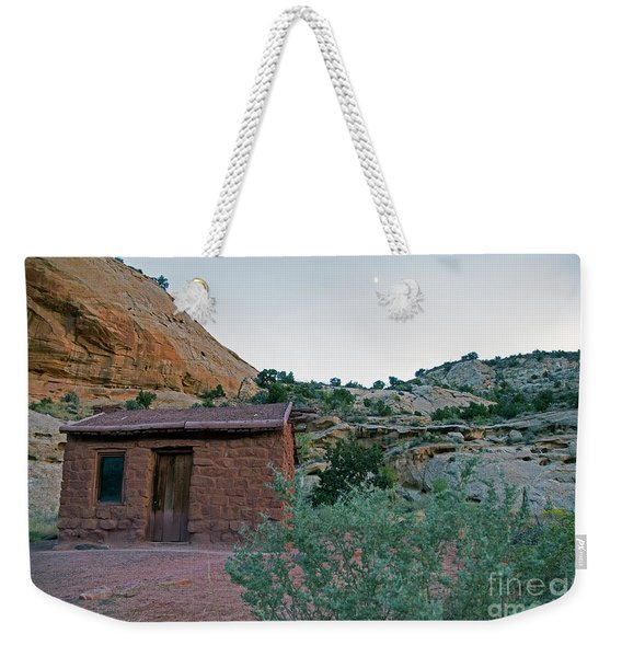 Behunin Cabin Capital Reef Weekender Tote Bag