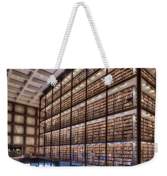 Beinecke Rare Book And Manuscript Library Weekender Tote Bag