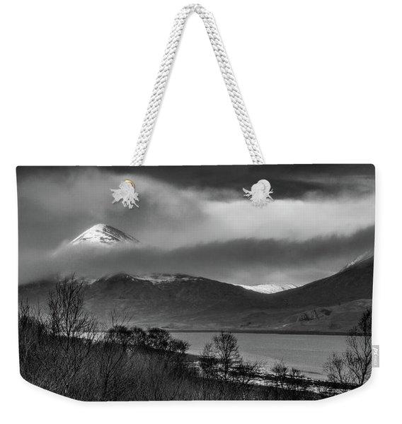 Beinn Na Cro And Loch Slapin, Isle Of Skye Weekender Tote Bag