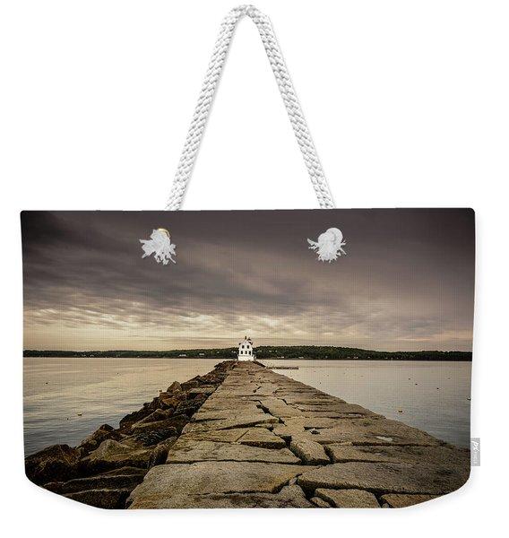 Rockland Breakwater Light Weekender Tote Bag