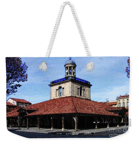 Belfry Of Revel City Weekender Tote Bag