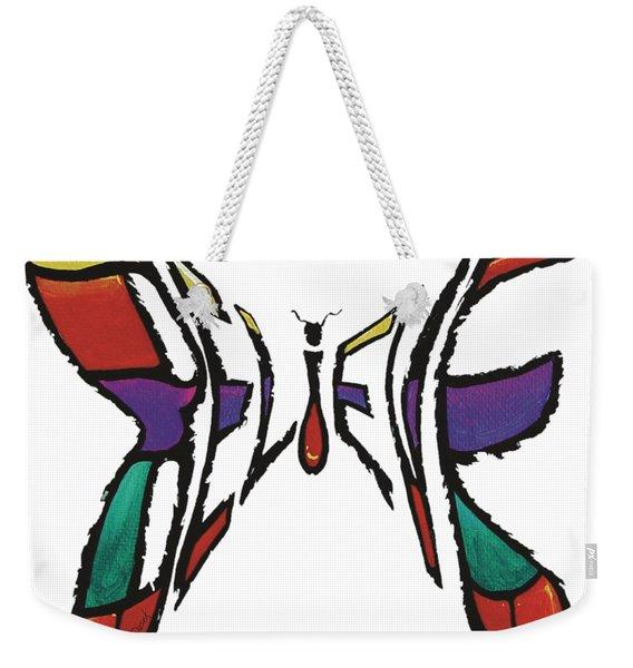Believe-butterfly Weekender Tote Bag