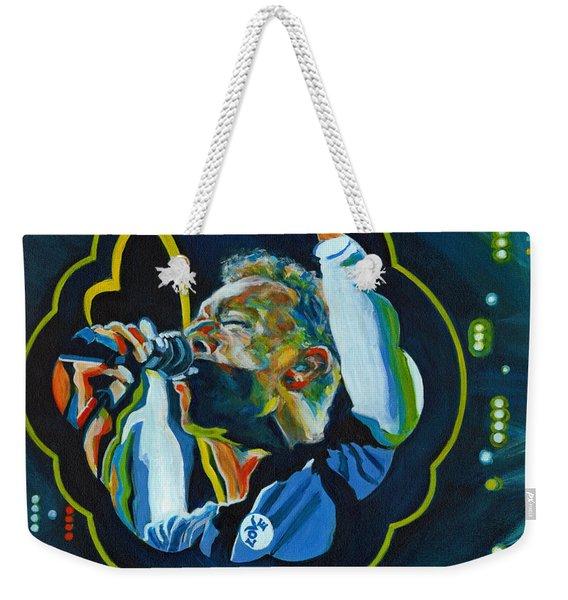 Believe In Love - Chris Martin Weekender Tote Bag
