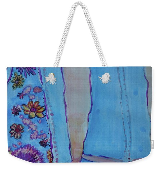 Bell Bottoms Weekender Tote Bag