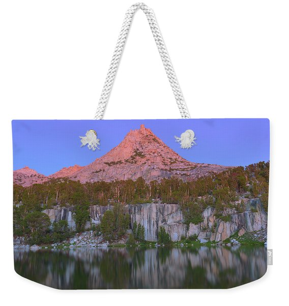 Bell Peak Alpenglow Weekender Tote Bag