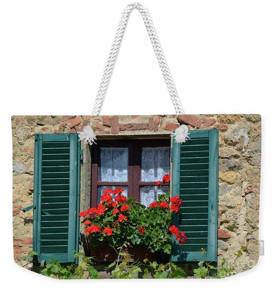 Bella Italian Window  Weekender Tote Bag