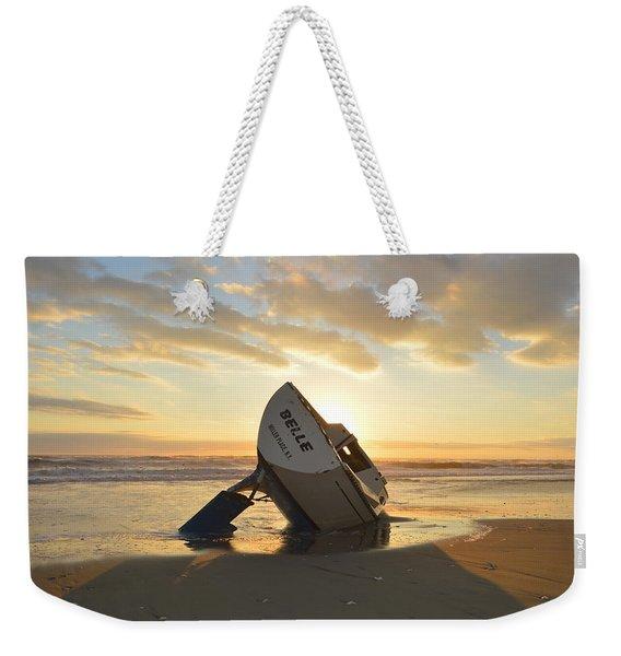 Belle At Sunrise Weekender Tote Bag