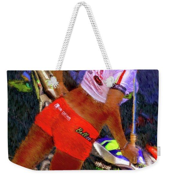 Bellissimoto Umbrella Girl Weekender Tote Bag