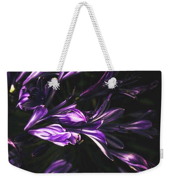 Bells And Flowers Weekender Tote Bag