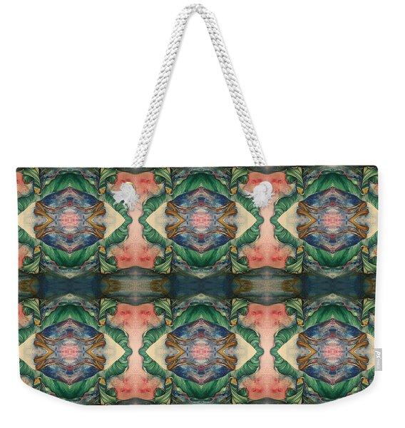 Belly Dance Mirror Image Weekender Tote Bag