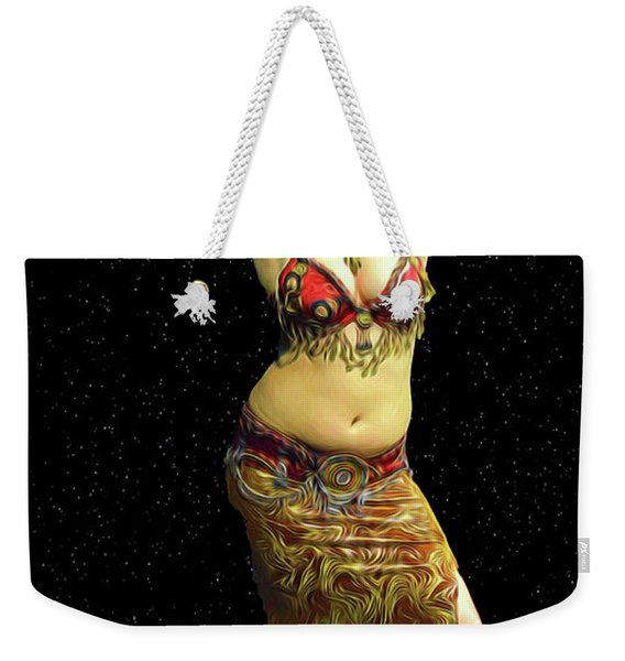 Belly Dance Performance Weekender Tote Bag