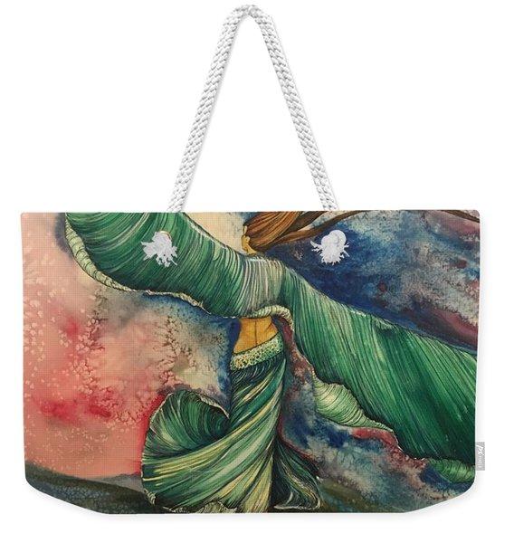 Belly Dancer With Wings  Weekender Tote Bag