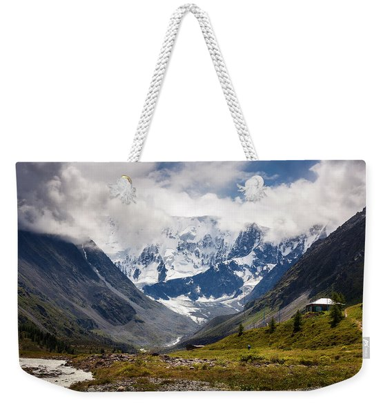 Belukha Mountain. Altay. Russia Weekender Tote Bag