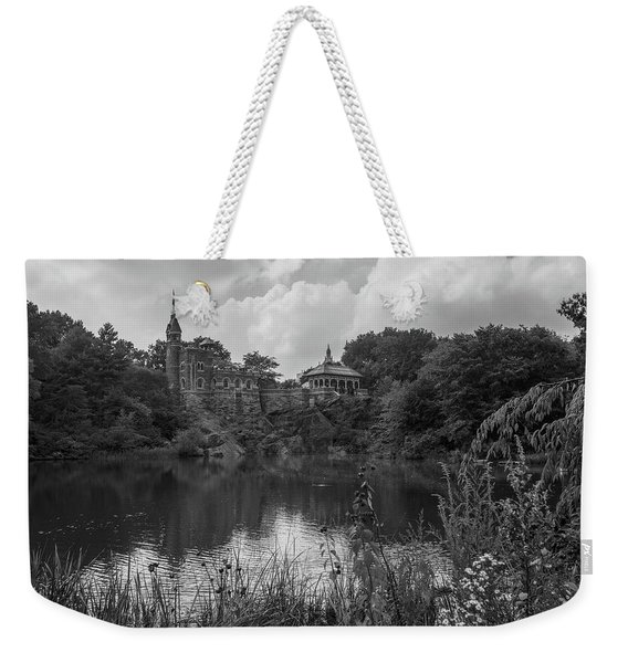 Belvedere Castle Central Park Nyc  Weekender Tote Bag
