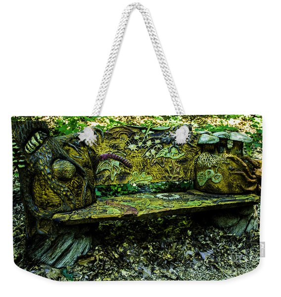 Bench Extraordinaire Weekender Tote Bag