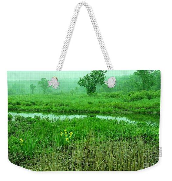 Beneath The Clouds Weekender Tote Bag