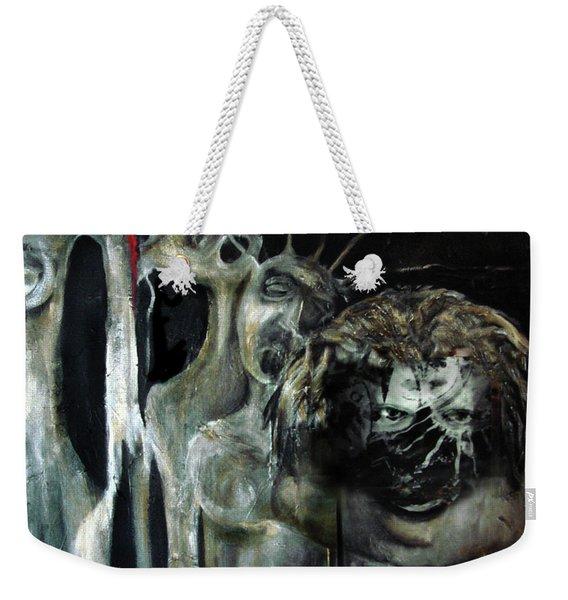 Beneath The Mask Weekender Tote Bag