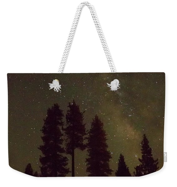 Beneath The Stars Weekender Tote Bag