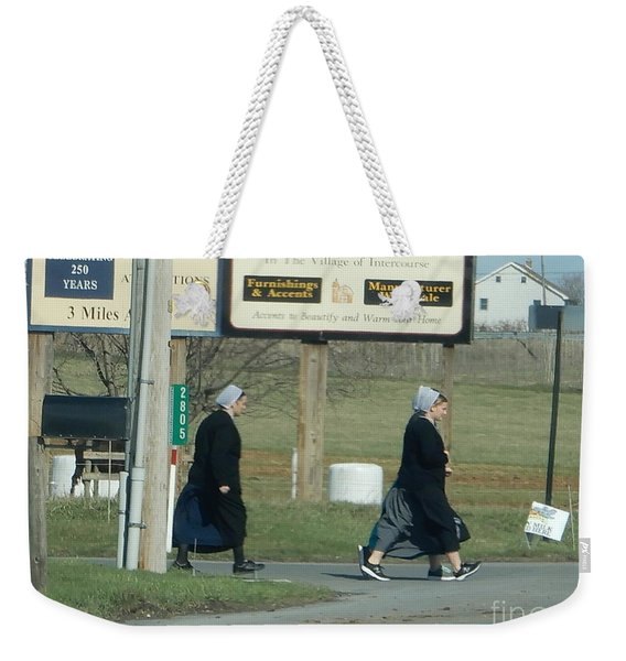 Benefit Auction Weekender Tote Bag