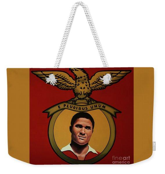 Benfica Lisbon Painting Weekender Tote Bag