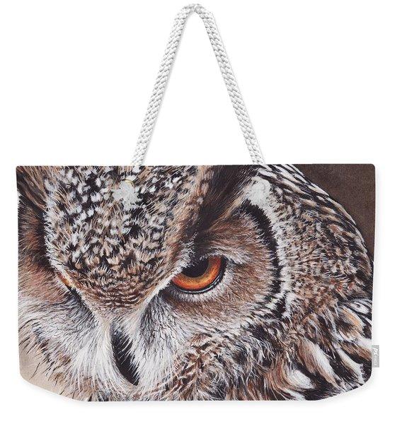 Bengal Eagle Owl Weekender Tote Bag