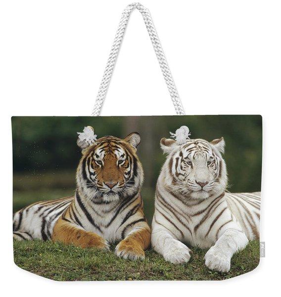 Bengal Tiger Team Weekender Tote Bag
