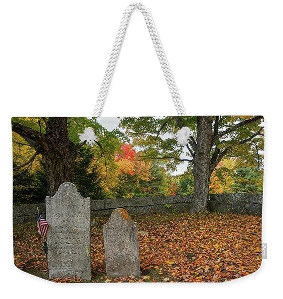 Benjamin Butler Grave Weekender Tote Bag