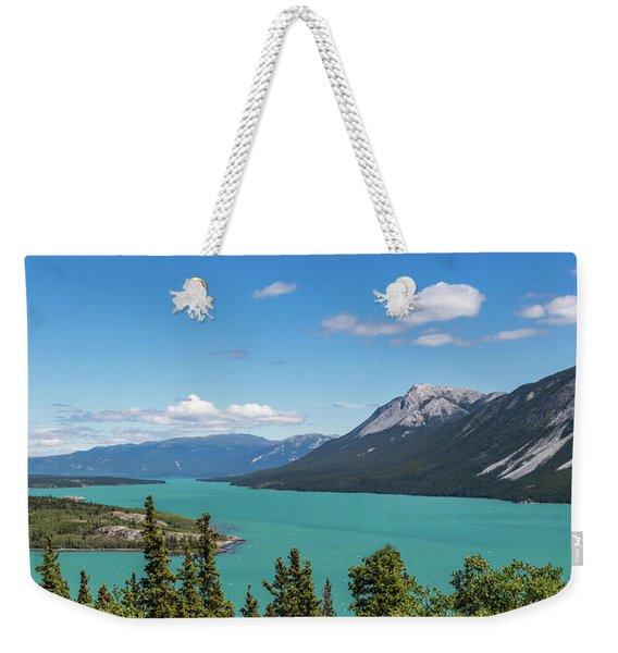 Tagish Lake Weekender Tote Bag