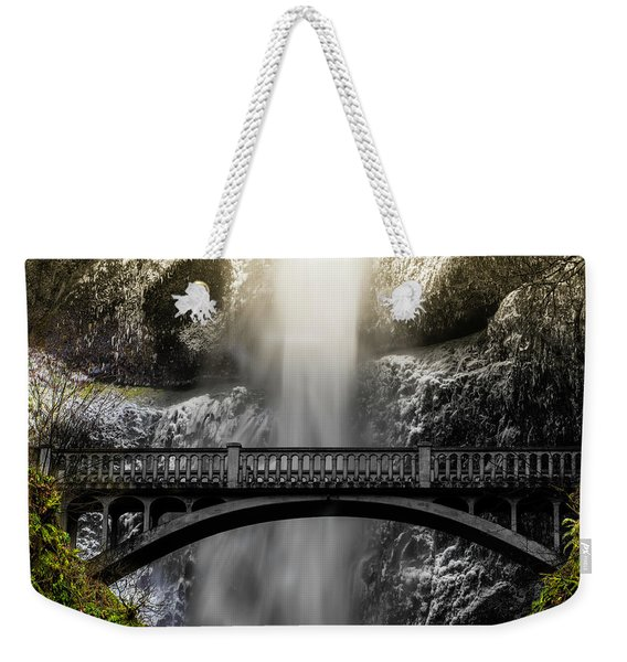 Benson Bridge Weekender Tote Bag