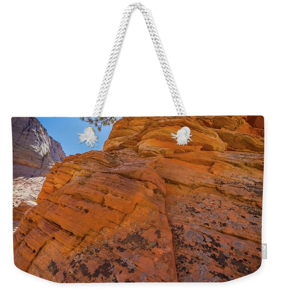 Bent Juniper Weekender Tote Bag