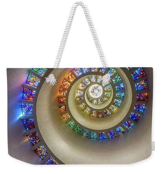 Bent Toward The Divine Weekender Tote Bag