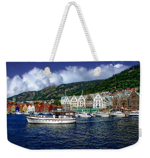 Bergen - Norway Weekender Tote Bag